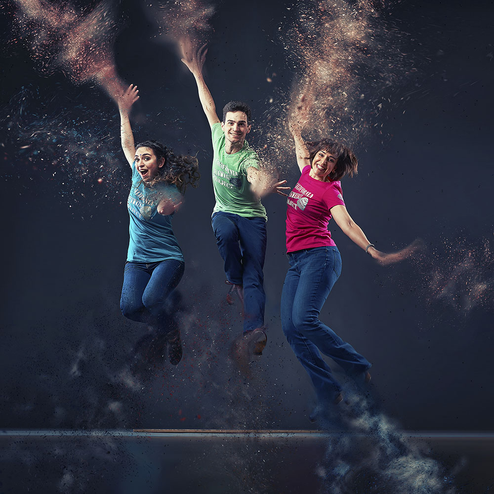 Jumping Dancers photo